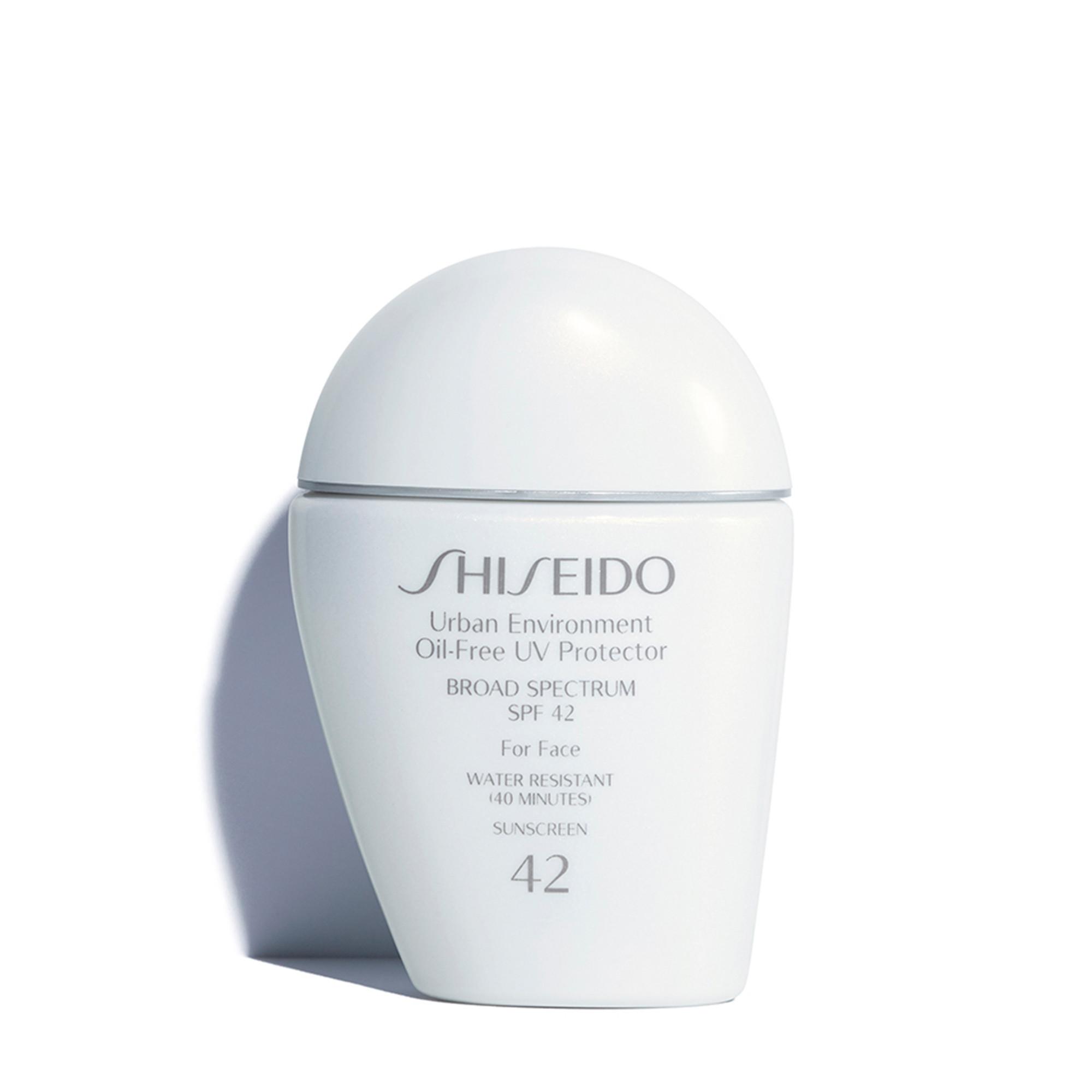 Spf 42 Oil Free Sunscreen Urban Environment Uv Protector Shiseido