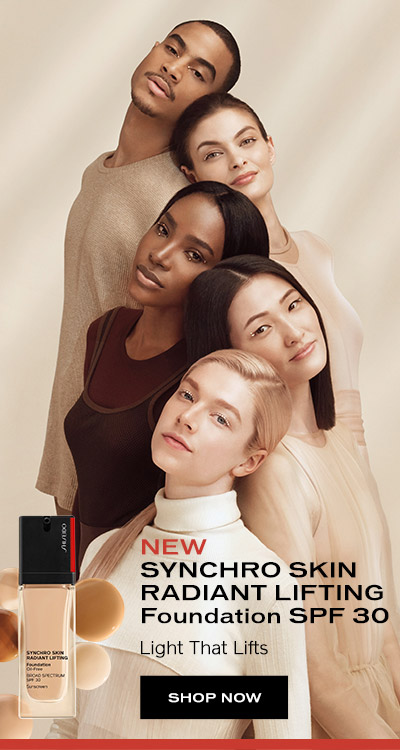 New Syncho Skin Radiant Lifting Foundation. Shop Now.