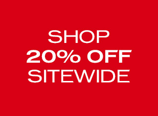 Shop 20% off sitewide.
