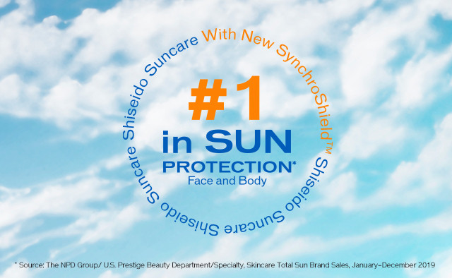 No.1 in Sun Protection Face and Body
