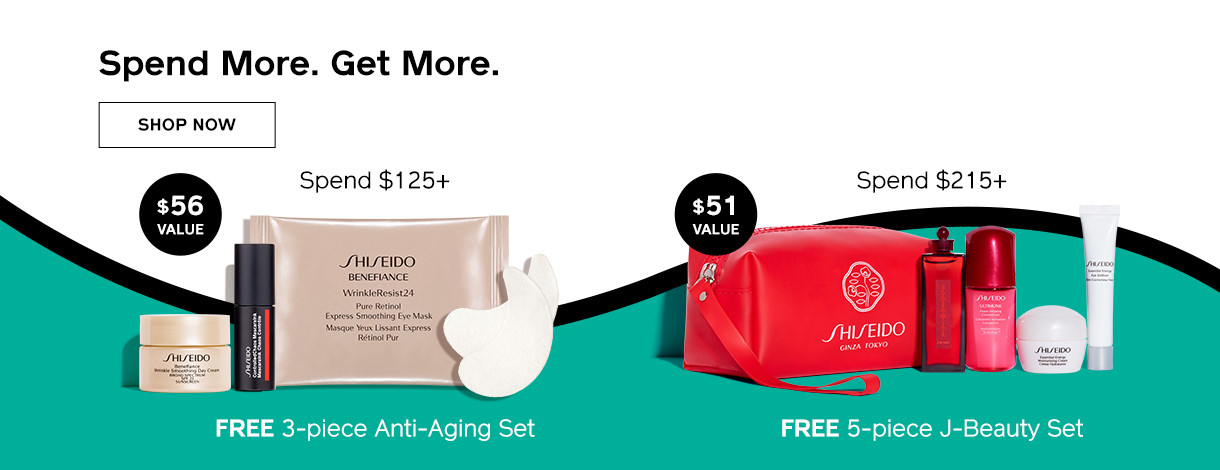 Spend More.Get More. Shop Now.