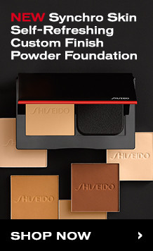 Synchro Skin Self-Refreshing Custom Finish Powder Foundation | Shop Now