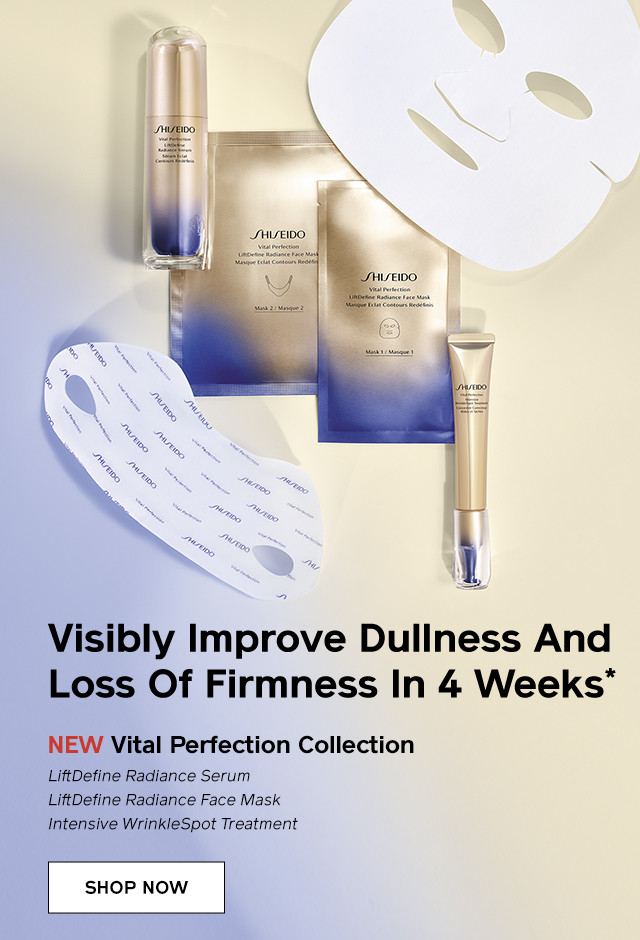 Vital Perfection Collection. Shop Now.