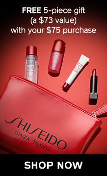 FREE 5-piece Holiday Essentials Gift (a $73 value) with your $75 purchase! SHOP NOW!