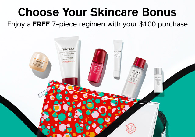 Choose your skincare bonus.