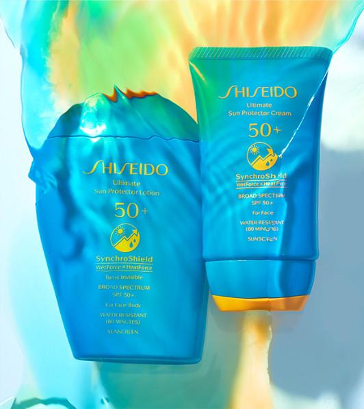 Historia de los productos solares de Shiseido