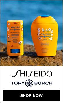 Shisiedo x Tory Burch Limited Edition Sunscreen
