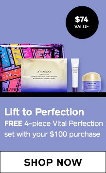 Free 4piece Vital Perferction set with $100 purchase. SHOP NOW