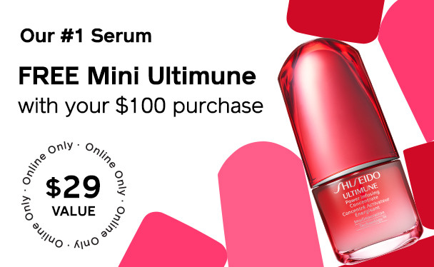 FREE Mini Ultimune with $100 Purchase