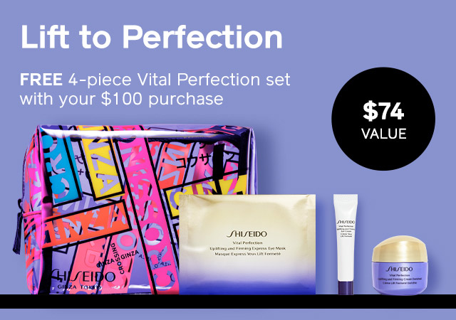 Free 4-Piece Vital Perfection Set with $100 Purchase