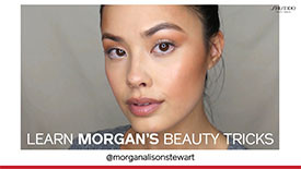Get The Look with @morganalisonstewart  | SHISEIDO