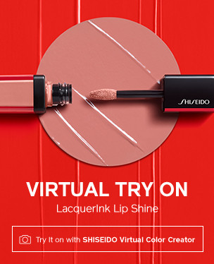 Virtual Try On. LacquerInk Lip Shine.