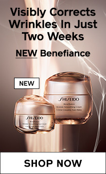 NEW Benefiance. Visibly Corrects Wrinkles in Just Two Weeks. SHOP NOW