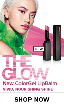 The Glow. New ColorGel LipBalm Vivid, Nourishing Shine. Shop Now