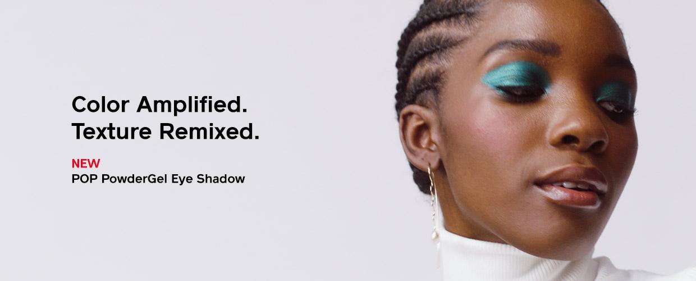 New POP PowderGel Eye Shadow with Models. Watch video now.